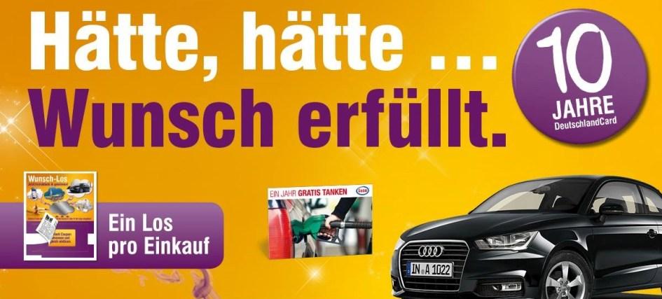 www deutschlandkarte DeutschlandCard Wunsch Los Gewinnspiel bei Edeka, Netto & Co  www deutschlandkarte