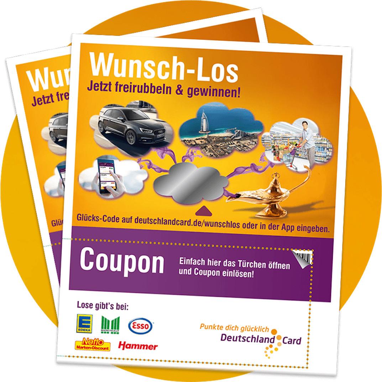 Deutschlandcard 2 Karte Anmelden.Deutschlandcard Wunsch Los Gewinnspiel Bei Edeka Netto Co