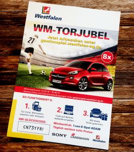 Gewinnspiel WM-Torjubel