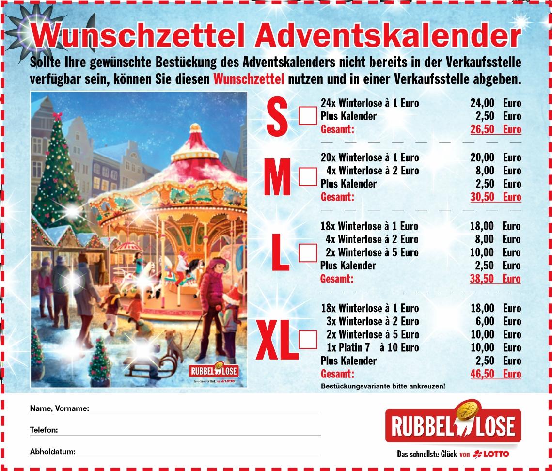 Weihnachtskalender Rubbellose.Rubbellos Adventskalender Von Lotto Hessen Im Check Losrubbeln Com