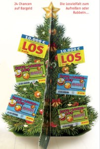 Lotto Rubbellose Adventskalender