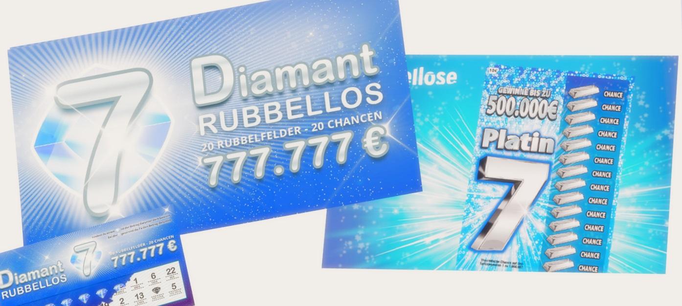 Platin 7 Rubbellos Gewinner