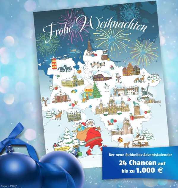 Lotto Niedersachsen Adventskalender 2020