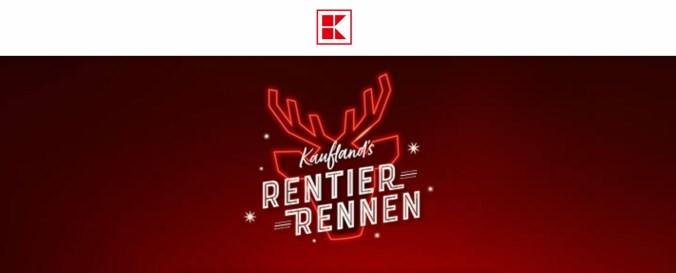 Kaufland Rentier-Rennen Logo