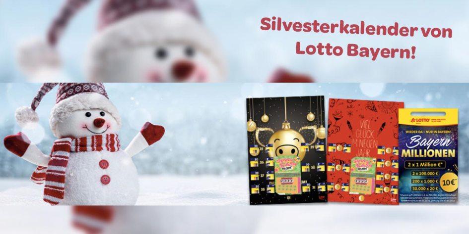 Lotto Bayern Silvesterkalender Artikelbild