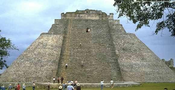 Uxma Mayan pyramid