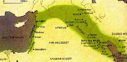 Fertile Crescent, Mesopotamia
