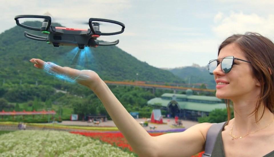 dji Spark - mini selfie drohne quadcopter - header - lostindrones