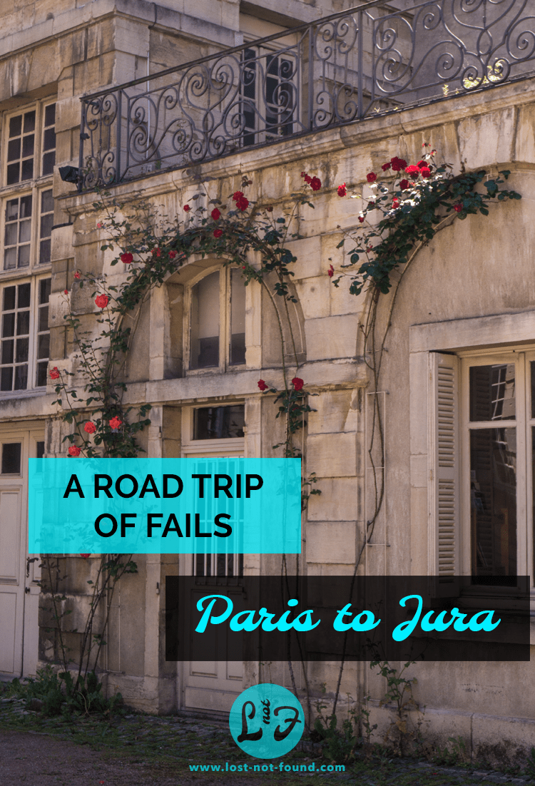 Old Building in Dijon with Roses | Lost Not Found | French Road Trip