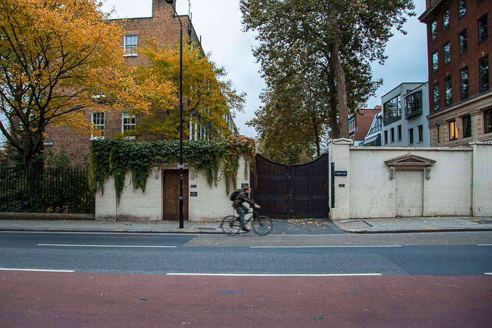 Bike Rider on Street in London | Lost Not Found | Travel Blog