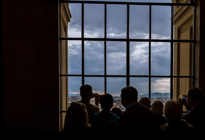 Tourists looking out of window in Vatican at Rome |LOST NOT FOUND| Top Lessons from Travel