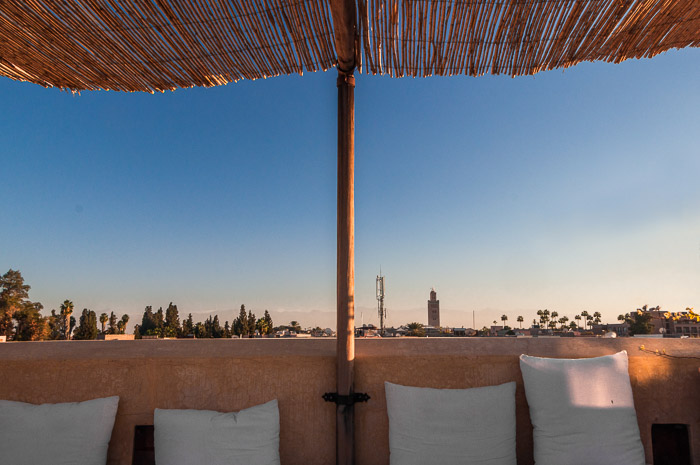 Rooftop at Riad 72 in Marrakech Morocco | LOST NOT FOUND | Top 5 Destinations