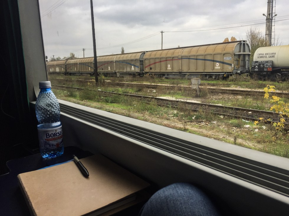 View from train window somewhere in Romania | LOST NOT FOUND | Europe Travel | Travel Stories| Travel by Train | Romania | Bulgaria | #Bucharest #Sofia #TrainTrip