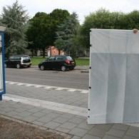 Vandaag voor de verandering eens met het openbaar vervoer een doek getransporteerd. Het werk past namelijk niet in een auto. Hieronder de reis. De hoogte van 1.85 meter bij 1.40 […]
