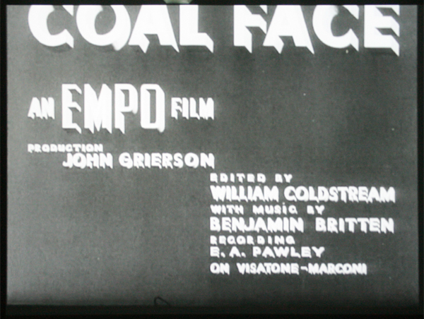 Alberto Cavalcanti - Coal Face - Documantaire