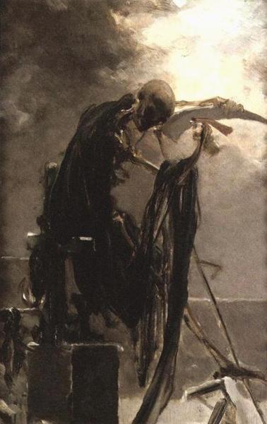 Maximilian Pirner - Allegorie van de Dood