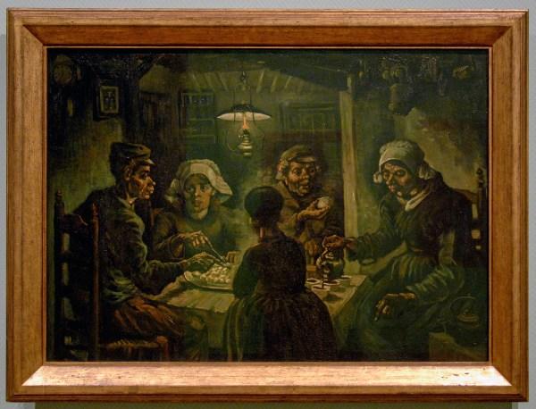 Vincent van Gogh - De Aardappeleters - Olieverf op doek, 1885
