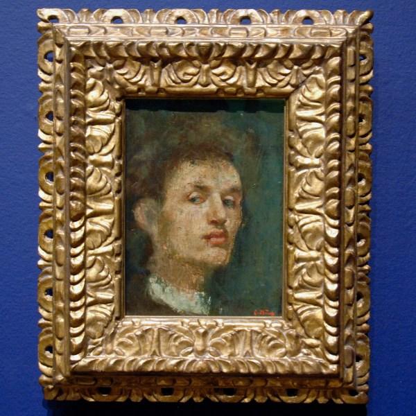 Edvard Munch - Zelfportret - Olieverf op doek, 1886