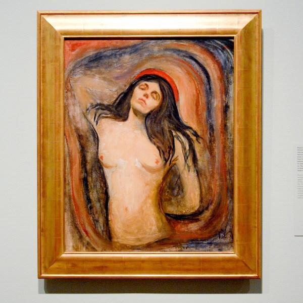 Edvard Munch - Madonna - Olieverf op doek, 1895-1897