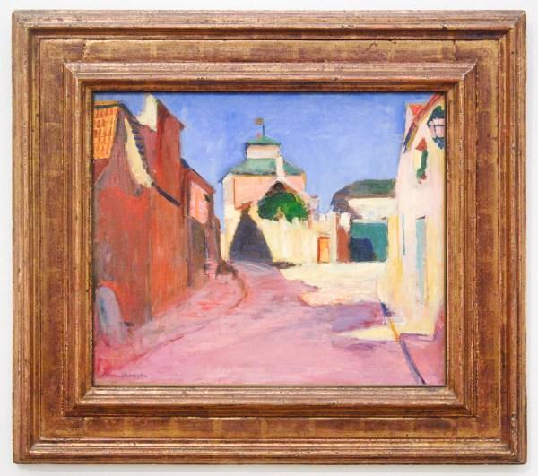 Henri Matisse - Een straat te Arceuil - Olieverf op doek, 1898