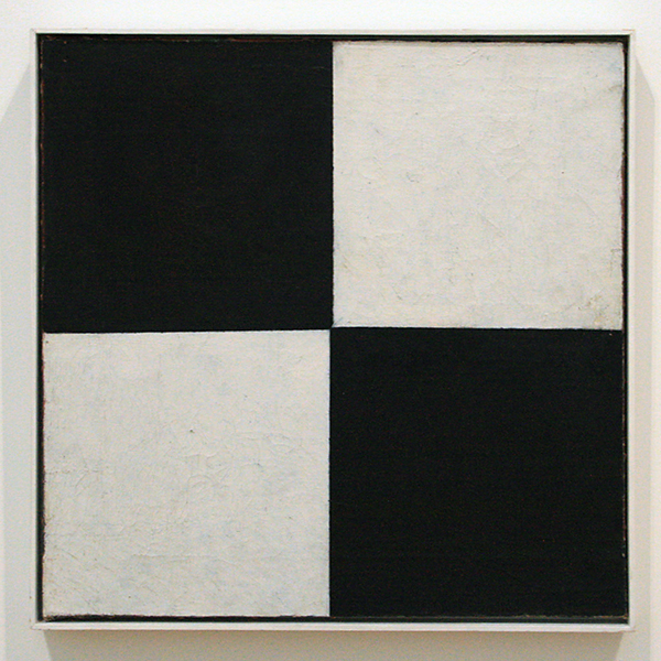 Kazimir Malevich - Vier Vierkante - Olieverf op doek 1915