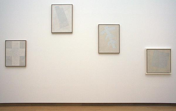 Kazimir Malevich - Diverse witte suprematische werken omstreeks 1920