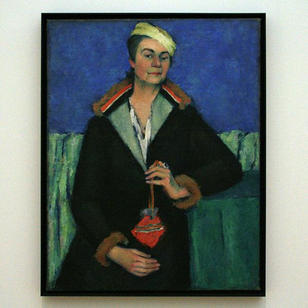 Kazimir Malevich - Portret van E Yakolevna - Olieverf op doek 1932