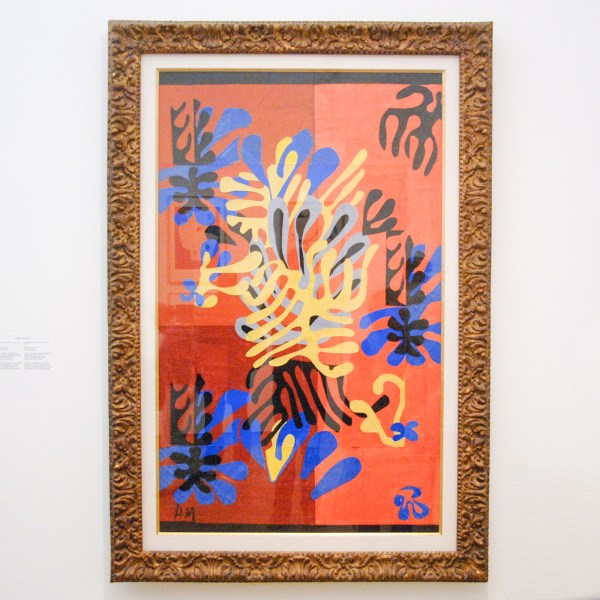 Henri Matisse - Mimosa - Gouache op papier op papier op doek, 1951