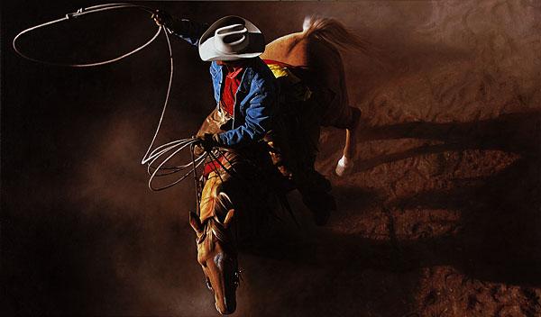 Cowboy #12 - 200x120cm Olieverf