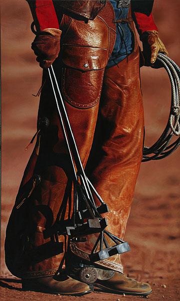 Cowboy #3 - 120x200cm Olieverf