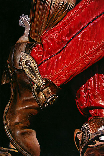 Cowboy #8 - 120x180cm Olieverf