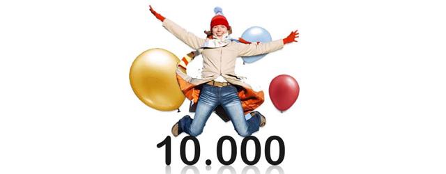 Vandaag vieren Erik en ik een klein feestje, we hebben 10.000 bezoekers per maand, met tussen de 300 en 600 unieke bezoekers per dag. Vanochtend is de magische 10.000 grens […]