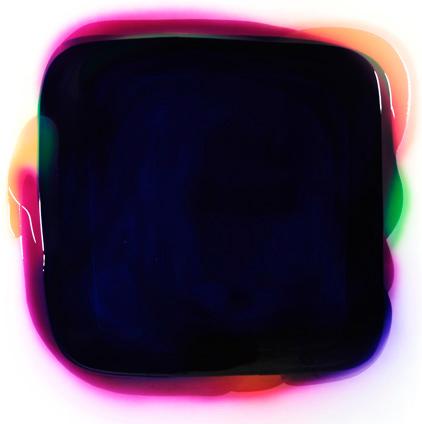 Head - 160x160cm Epoxy en airbrush op canvas
