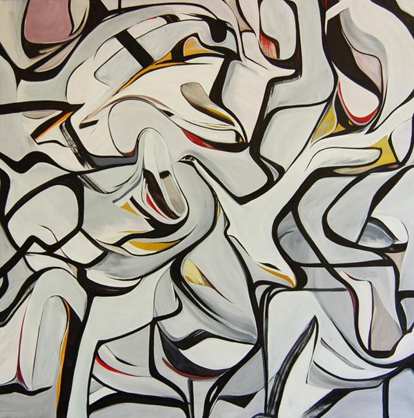 MWP - 150x150cm olieverf op canvas