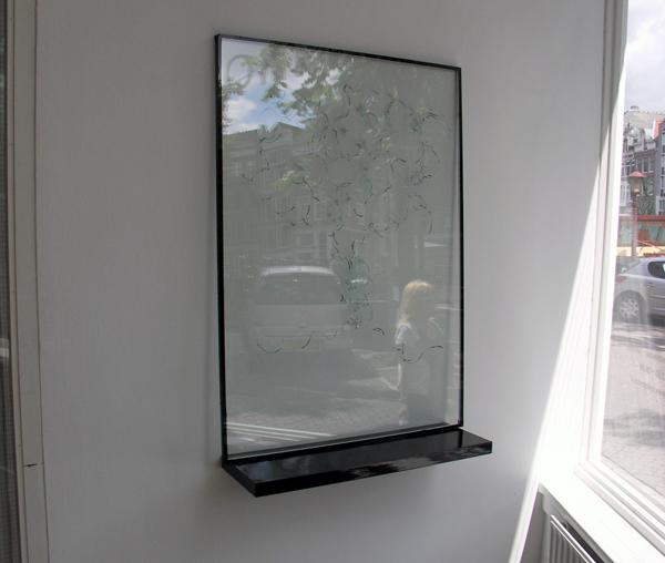 Rogier Cloin - Boom 118x84cm Glas
