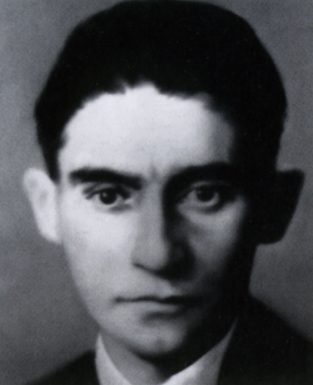 Franz Kafka, 1883-1924, 1971/72, 70 x 55 cm, Oil on canvas