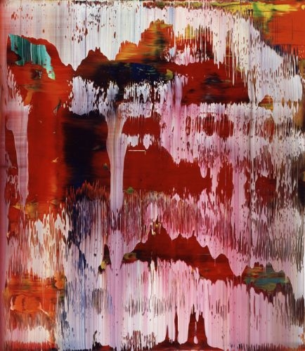 Abstraktes Bild/Abstract Painting, 1997, 55 cm X 48 cm, Oil on Aludibond