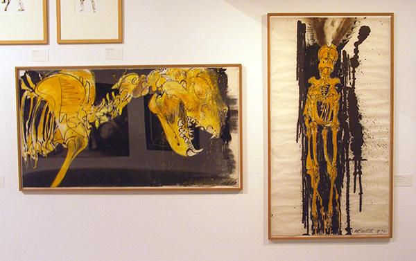 Erik Andriesse - Leeuw en springbok