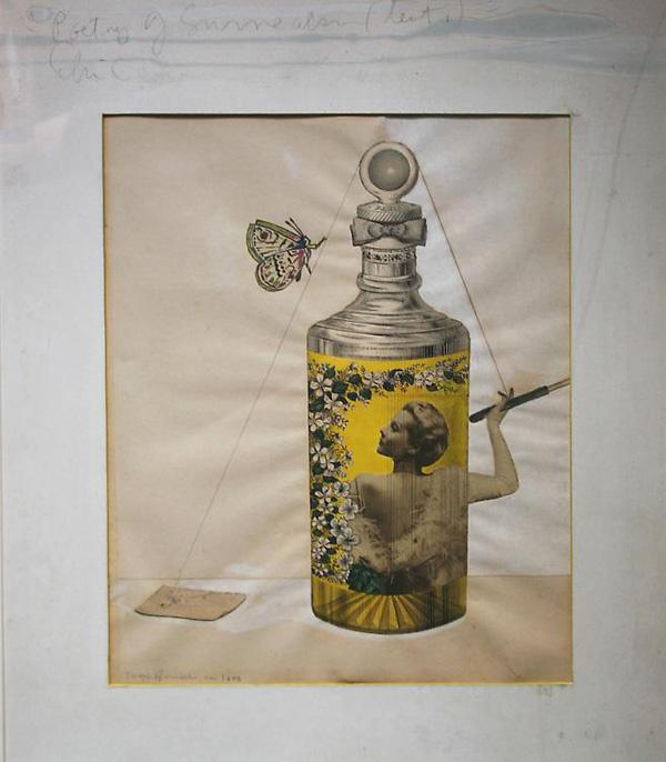 Joseph Cornell - Poetry of Surrealism - 47x42cm Collage