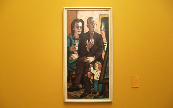 Max Beckmann - Familieportret Lutjens - Olieverf op doek 1944
