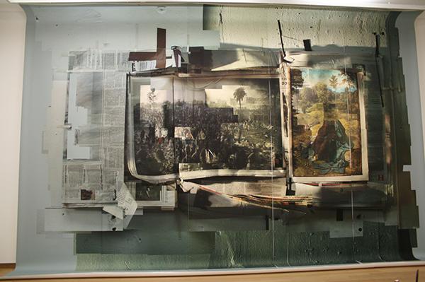 Rob Johannesma - In Dark Trees - Inkjet op papier