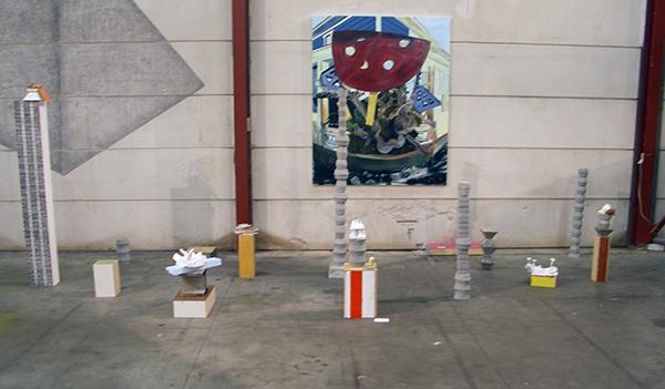 Marjolijn de Wit - Zonder Titel - 190x165cm Olieverf op doek