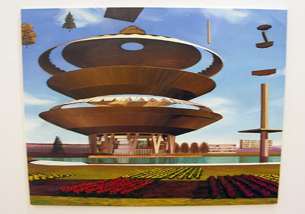 Michiel van der Zanden - Recreation #2 -145x190cm Acryl en olieverf op doek