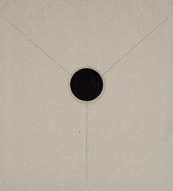 Untitled 1.16 - 102x86cm Olieverf en grafiet op linnen
