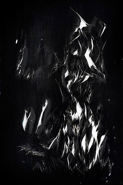 Untitled 1.35 - 92x62cm Olieverf op linnen