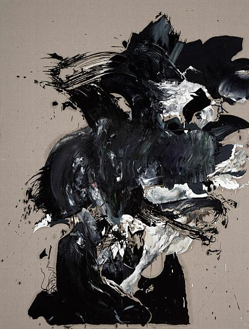 Untitled 1.6 - 239x182cm Olieverf en grafiet op linnen
