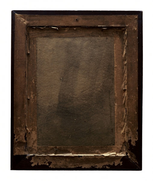 Verso - Anoniem - Portrait - 42x36cm