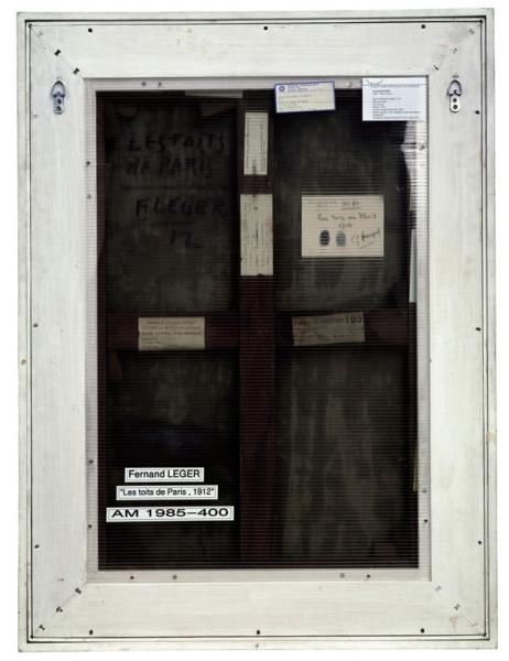 Verso - Fernand Léger - Les toits de Paris - 90x70cm