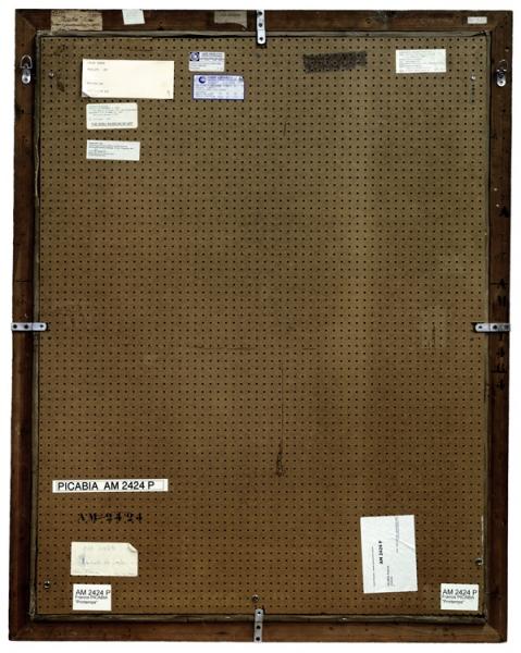 Verso - Francis Picabia - Printemps -135x108cm
