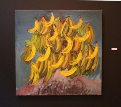 Roel Jeroen van Der Linden (1982) Zelfportret met bananen #2
